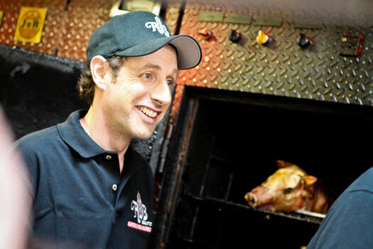 Dog Rescuers, Karaoke Queens and Commercial Actors Converge at R.U.B. BBQ